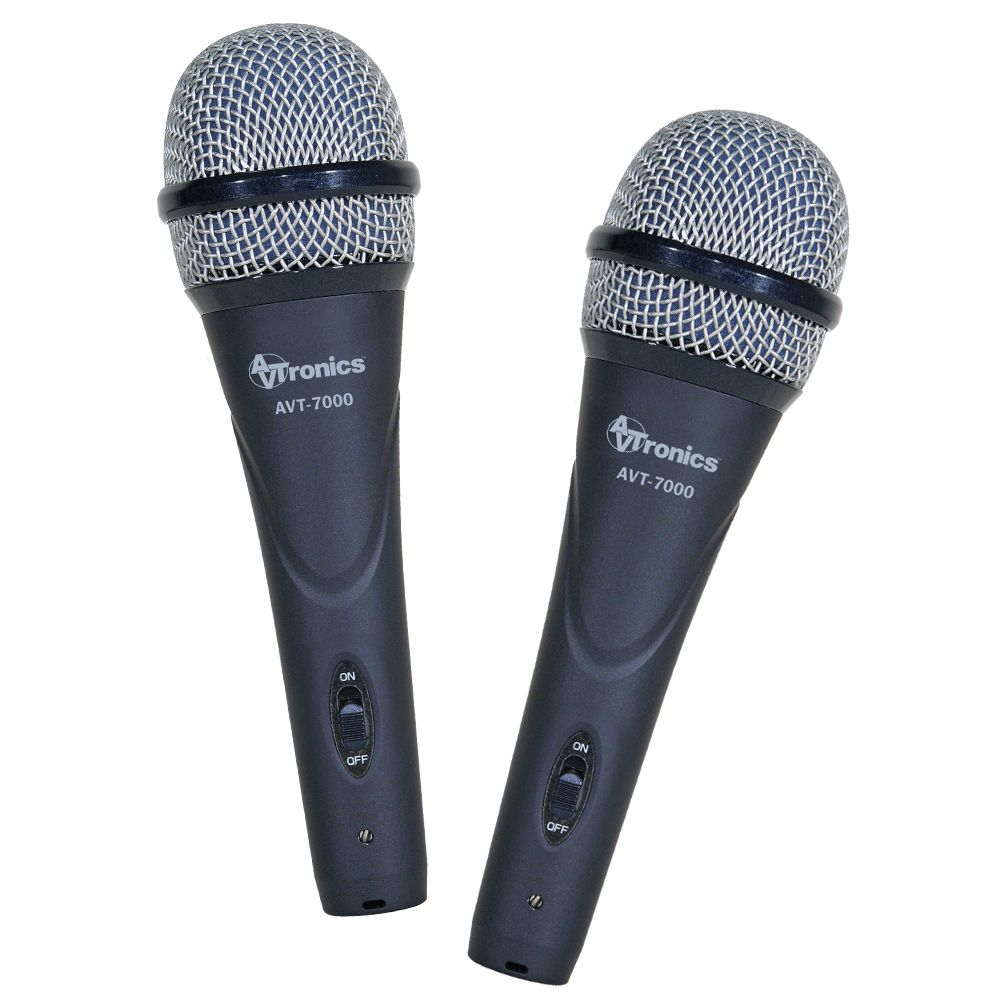Buy 1 AVTronics Handheld Dynamic Microphone - Super Cardioid w/ Switch Get 1 Free