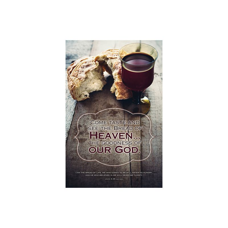 Communion Bulletin- Bread of Heaven 100 QTY
