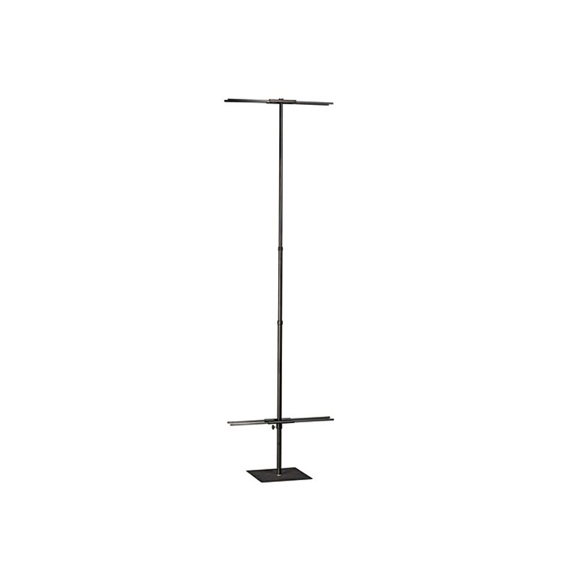 """Double-Sided Metal Banner Stand - 24"""" wide"""