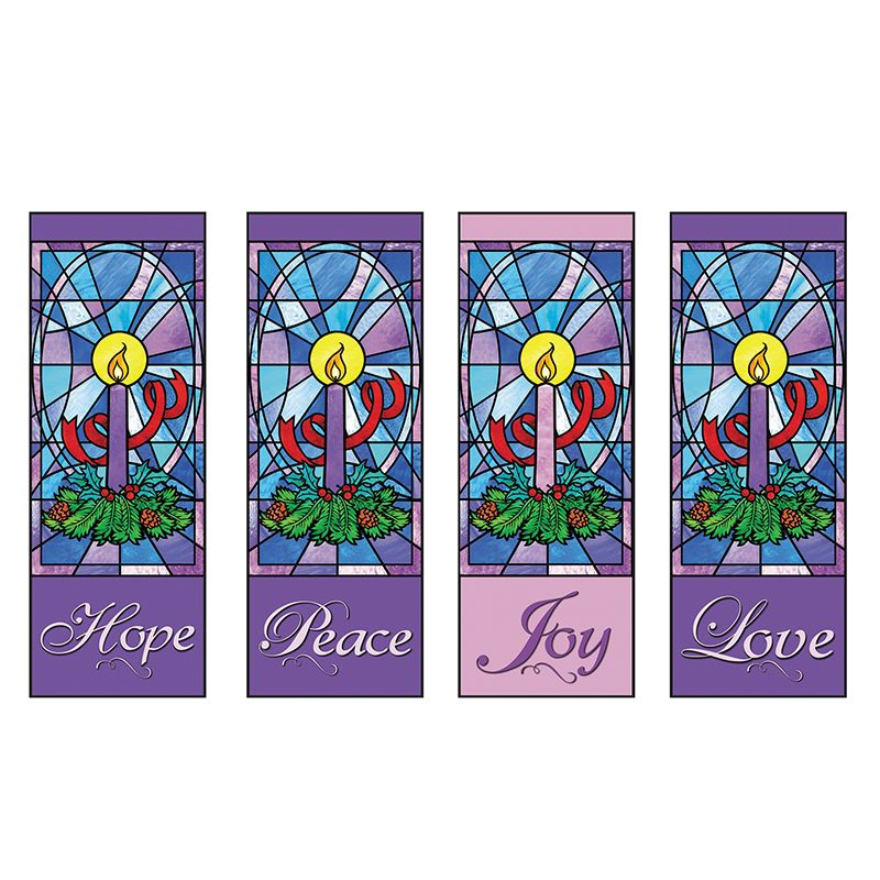 Advent Candle Series - Set of 4