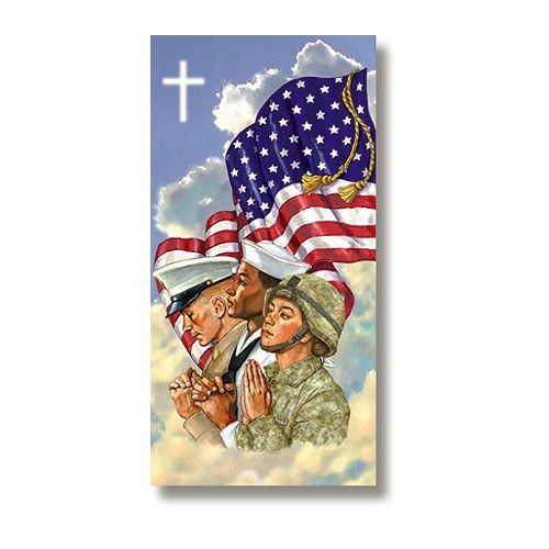 God Bless America Banner 3ft. x 6ft.