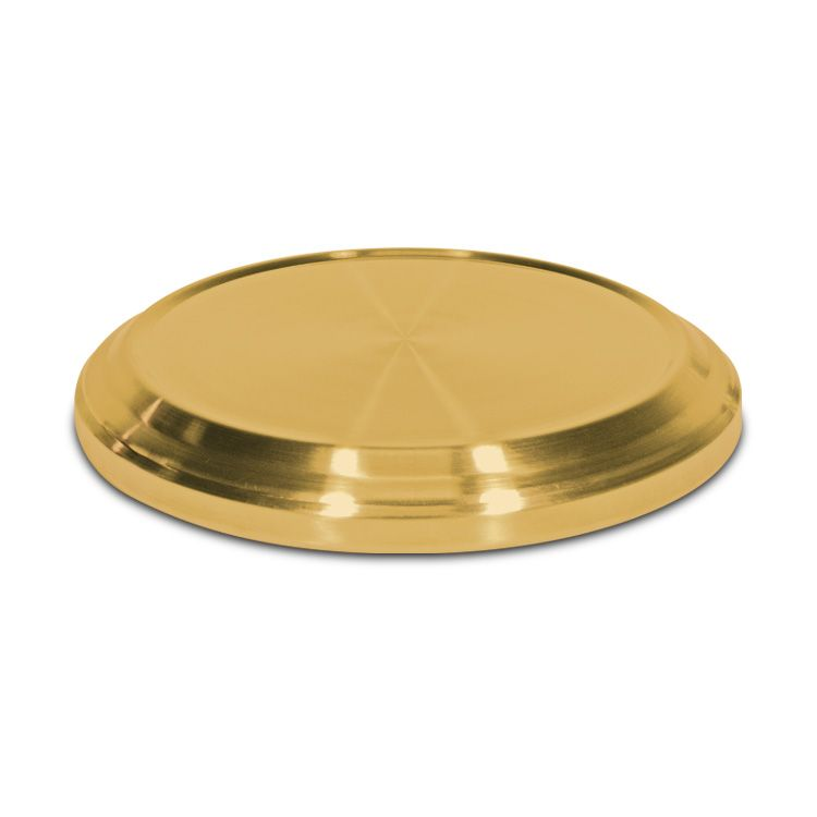 Communion Tray Base - Brasstone Stainless Steel