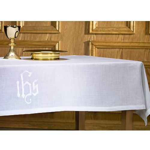 Poly/Cotton IHS Design Altar Frontal