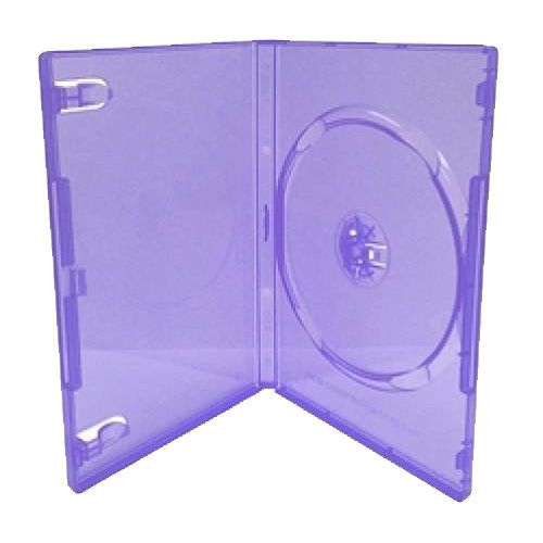 1-disc Capacity Commercial DVD-CD Case - Purple