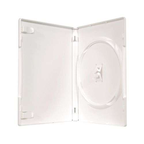 1-disc Capacity Commercial  DVD-CD Case - White