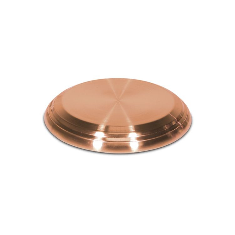 Communion Bread Plate Base- Copper Plated Stainless Steel