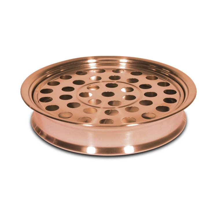 Communion Tray - 12.25 Inch Copper Plated Stainless Steel
