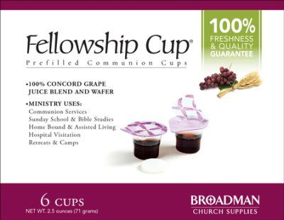 The Fellowship Cup - Prefilled Communion Cup (6)