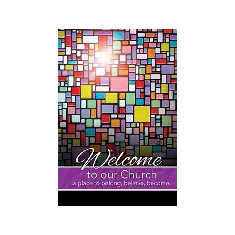 Welcome to our Church Folders - Pack of 12
