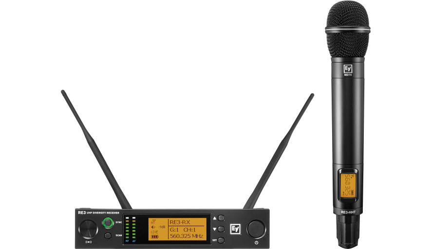 Handheld Set with ND76 Head 560-596 MHz