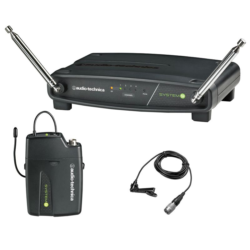 Audio Technica ATW-901a/L System 9 Lavalier Wireless System