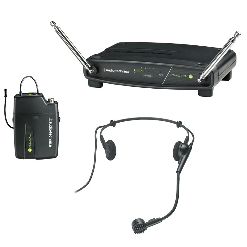 Audio-Technica ATW-901a/H VHF Headset Wireless System