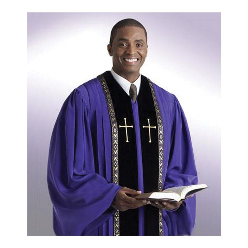 Pulpit Robes Purple - Extra Large