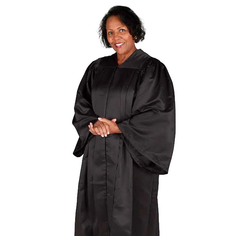 Choir Robe Large - Black