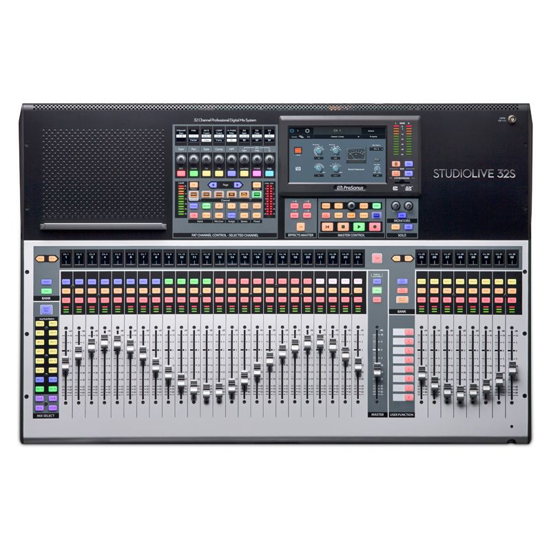 StudioLive 32S 32-channel digital mixer and USB audio interface