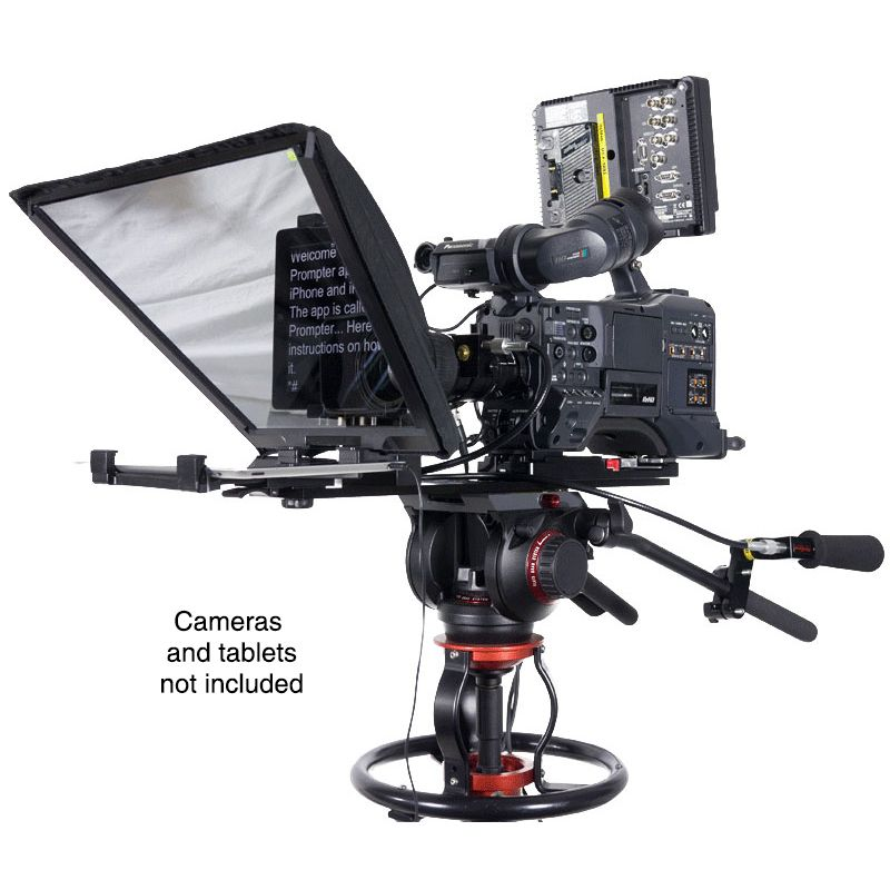 """Datavideo 20"""" x 14"""" Large Screen Prompter Kit for Professional ENG Cameras"""