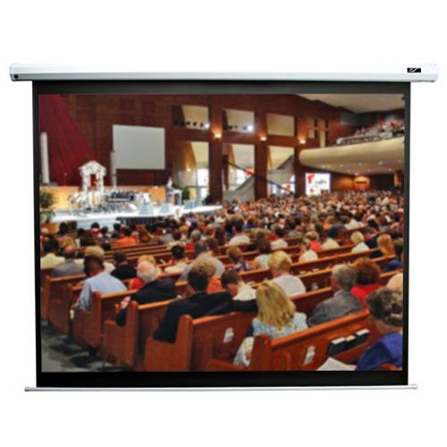 Elite VMAX2 4:3 Format White Projection Screen - 120 diagonal