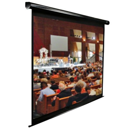 Elite VMAX2 4:3 Format Black Projection Screen - 135 diagonal