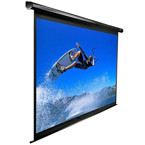 Elite VMAX2 16:9 Format Black Projection Screen -135 diagonal