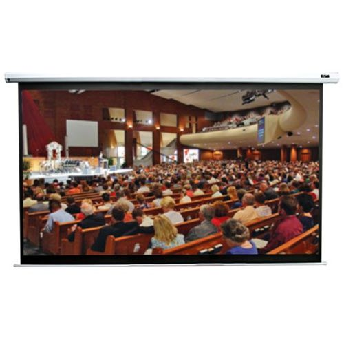 Elite VMAX2 16:9 Format White Projection Screen - 92 diagonal