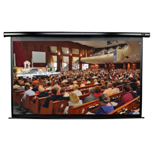 Elite VMAX2 16:9 Format Black Projection Screen - 92 diagonal