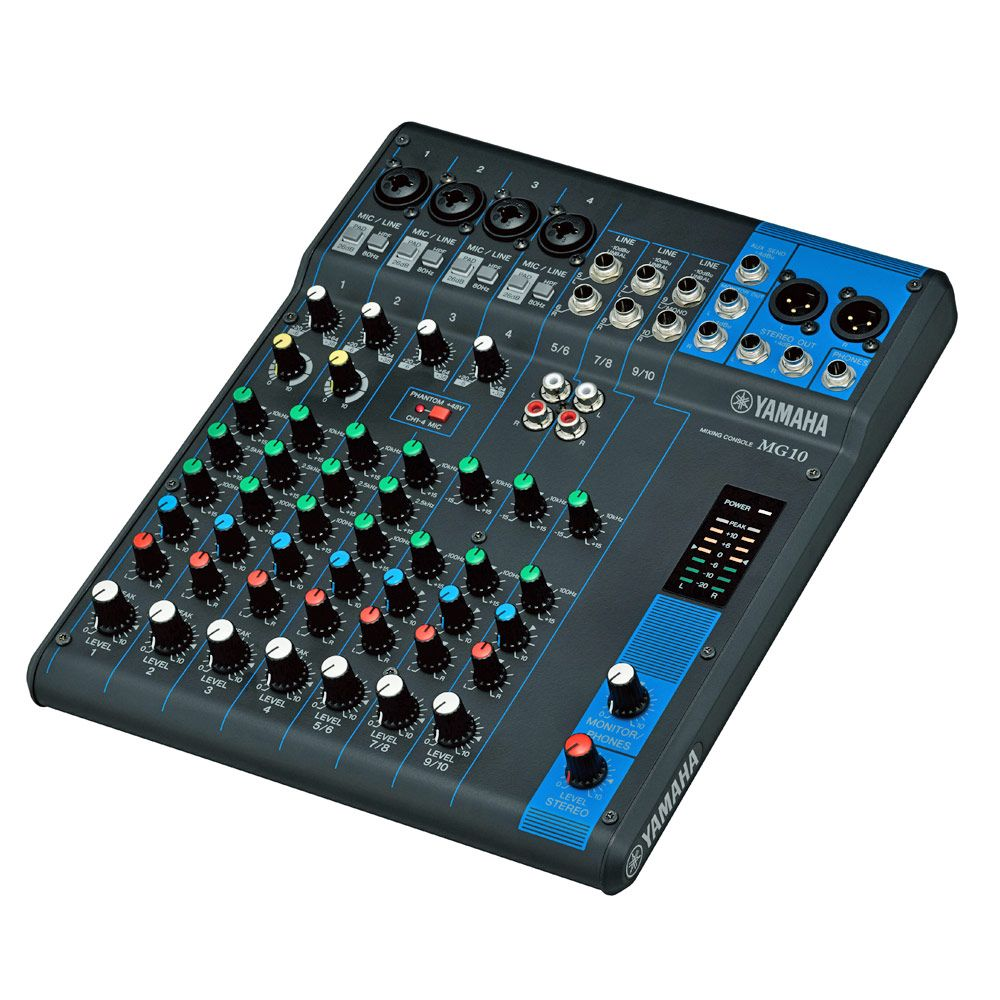 Yamaha MG Series 10 Channel Mixer