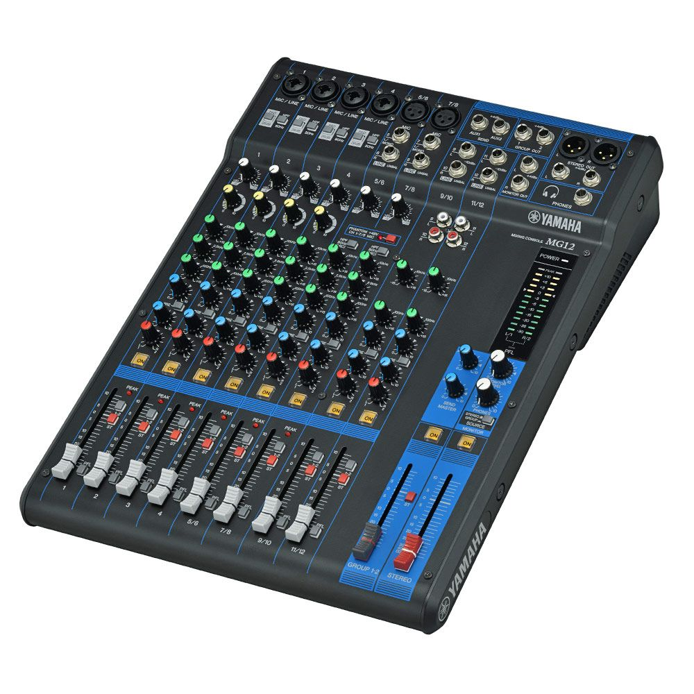 Yamaha MG Series 12 Channel Mixer