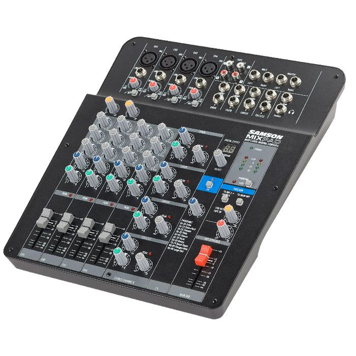 Samson MIXPAD® 12 Channel Audio Mixer with FX