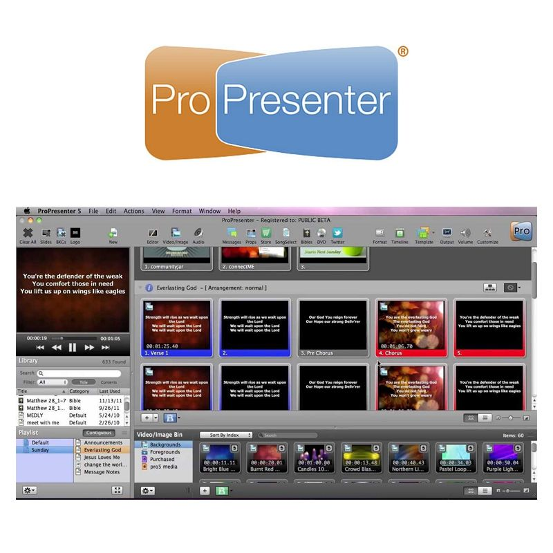 ProPresenter Mac and PC - Unlimited Computer Installations