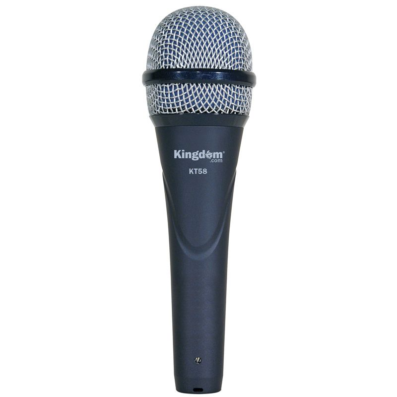 Kingdom KT58 Professional Series Microphone  - Midnight Blue