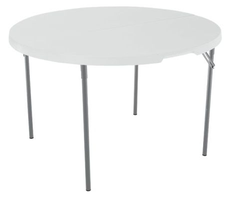 "48"" Round Fold-In-Half Folding Table"