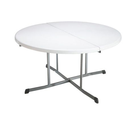 "60"" Round Fold-In-Half Folding Table"