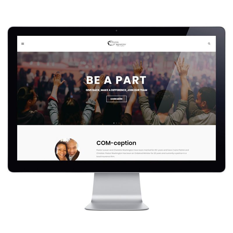 Kingdom Church Website 20 Page with Live Streaming