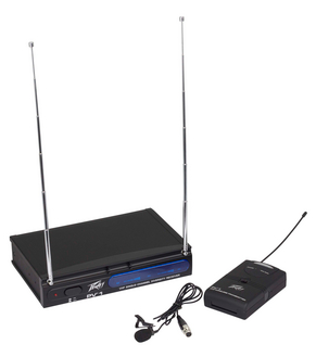 Peavey Lavalier VHF Wireless System 203.400MHZ