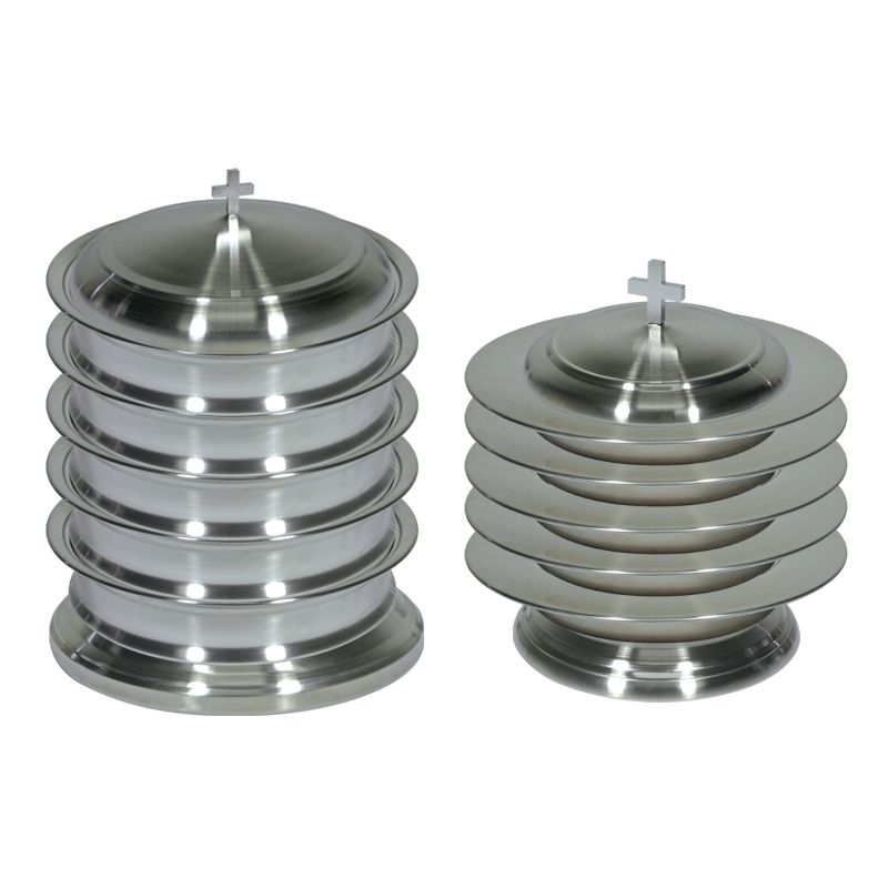 Stainless Steel Communion Ware Set for up to 200