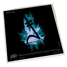 Peavey Stainless Steel-Wound Elements™ Balanced 40s Bass Guitar Strings