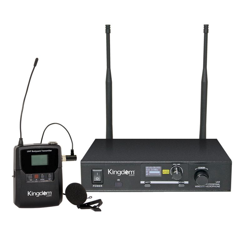 Kingdom Wireless Multi-Channel Beltpack/Lapel System