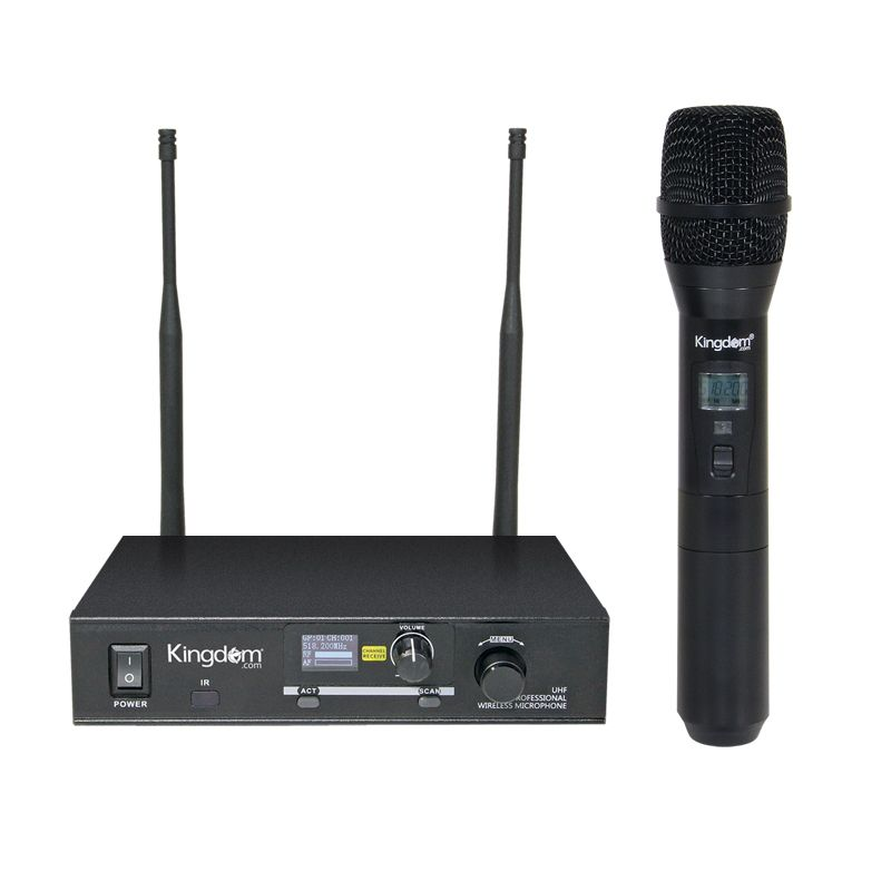 Kingdom Wireless Multi-Channel Handheld System