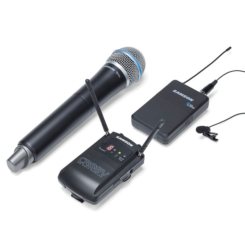 Samson SWC88VBH108 Concert 88 Camera UHF Wireless System - Combo - Band K