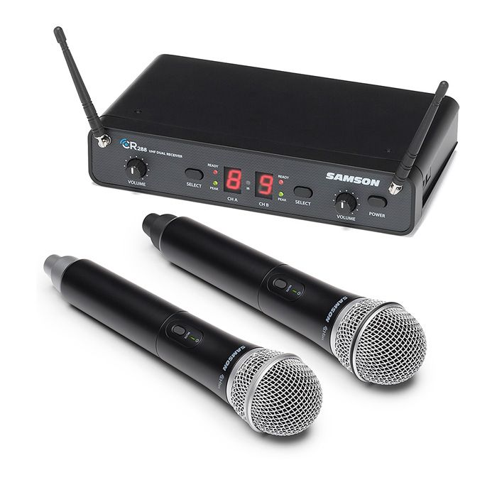 Samson Concert 288 Dual Wireless Microphone - I Band