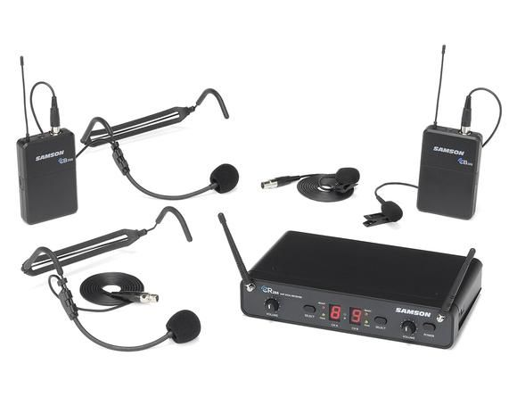Samson Concert 288 Dual Wireless Microphone - H Band - Presentation
