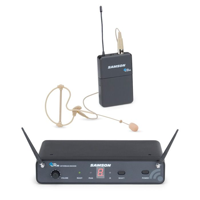 Samson Concert 88 Wireless Earworn Microphone System - C Band