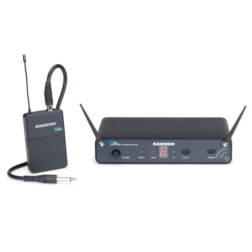Samson Concert 88 Wireless Guitar Microphone System - D Band