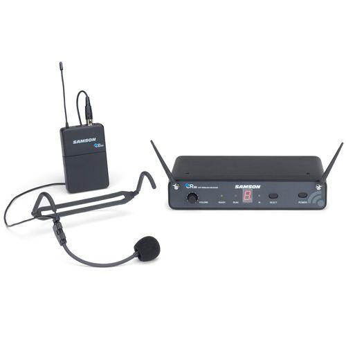 Samson Concert 88 Wireless Headset Microphone System - D Band