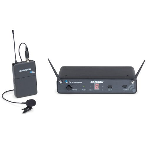 Samson Concert 88 Wireless Lapel Microphone System - D Band