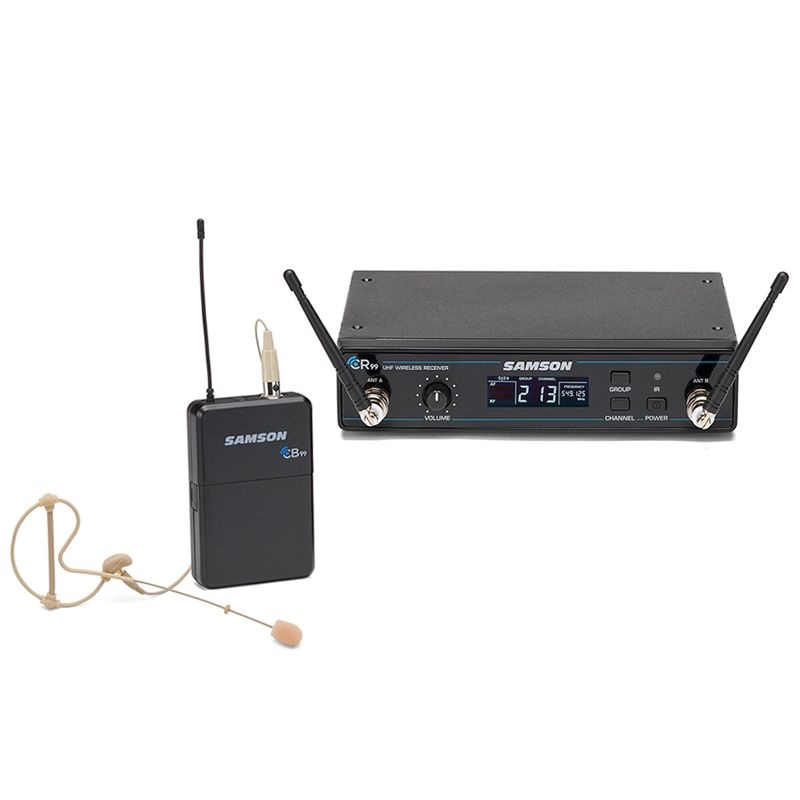 Samson Concert 99 Easrset Wireless System - K Band