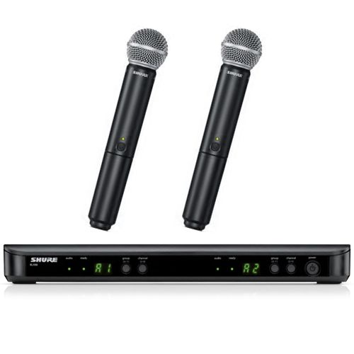 Shure BLX Wireless System W/Dual PG58 Handheld Microphones