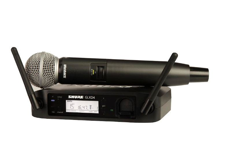Shure GLXD24/SM58 Digital Handheld Wireless Microphone