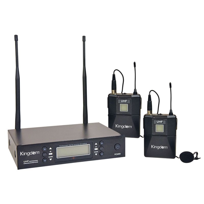 Kingdom Dual Lapel Microphone System