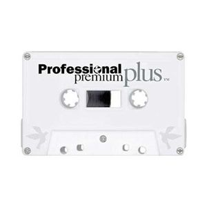 Professional Premium Plus Cassette Tapes